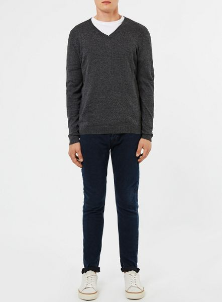 Topman V-Neck Jumper