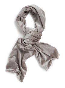 Topman Stone Velvet Dress Scarf