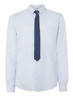 Long Sleeve Shirt and Tie Set