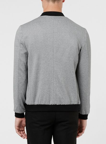 Topman Tailored Jersey Bomber