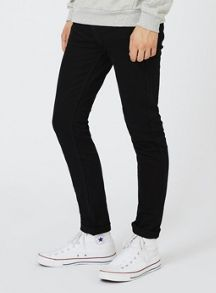 Topman Black Stretch Skinny Jeans
