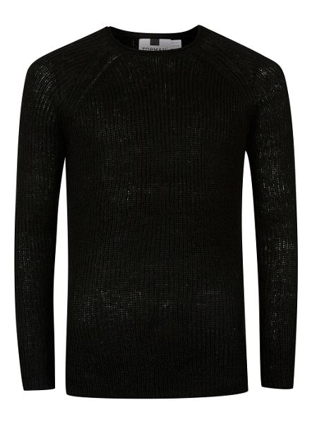 Topman Grunge Slim Fit Jumper