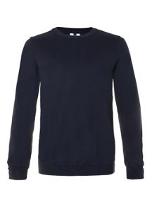 Topman Patch Crew Neck Jumper