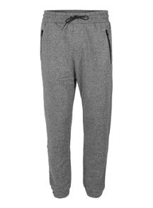 Topman Black Salt And Pepper Zip Joggers