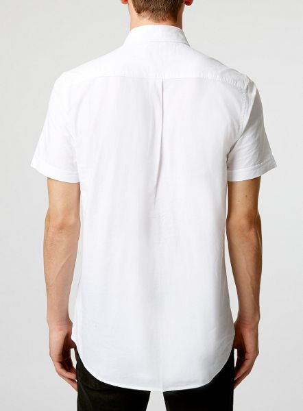 Topman Short Sleeve Oxford shirt