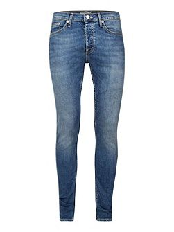 Vintage Bleached Stretch Skinny Jeans