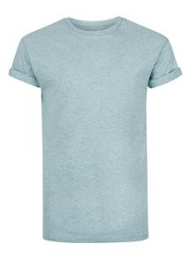 Topman Slub Textured Muscle Fit Roller T-Shirt