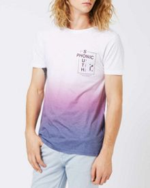 Topman Purple fade printed t-shirt