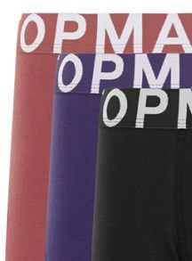 Topman Assorted Colour 3 Pack Trunks