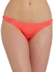 Striped Edge Bikini Bottom
