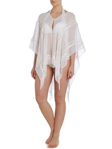 Lace Tassel Long Michelle Keegan Coverup