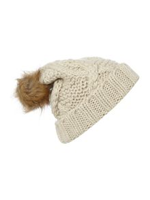 Bobble Knitted Hat