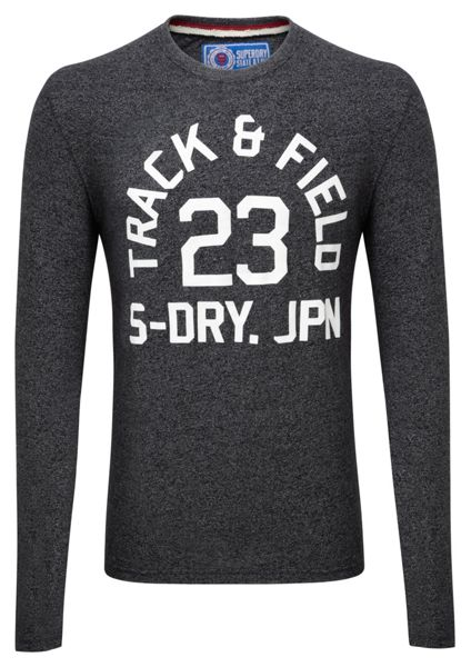 Superdry Trackster Print Crew Neck Regular Fit T-Shirt
