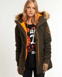 Superdry Everest slim polar coat
