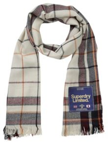 Superdry Capital Check Scarf
