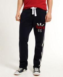 Applique Straight Leg Casual Tracksuit Bottoms