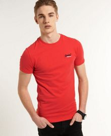 Embroidered Logo Crew Neck Regular Fit T-Shirt