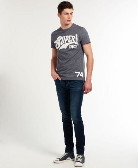 Superdry S-Wing Logo Crew Neck T-Shirt