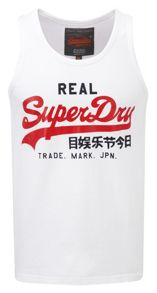 Superdry Print Scoop Regular Fit Vest