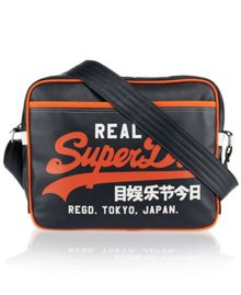 Superdry Mash Up Synthetic Satchel