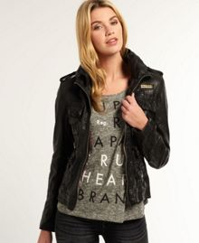 Superdry Megan Flag Slim Jacket