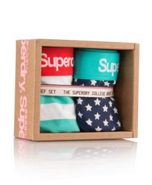 Superdry College Brief Twin Pack