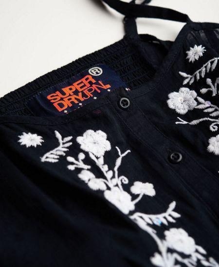 Superdry Folk Embroidery Camisole