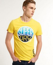 Hooper Surf Print Crew Neck T-Shirt