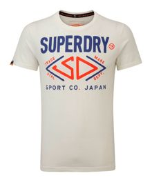 Sports Co Japan Print Crew Neck Regular Fit T-Shi