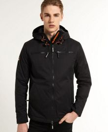 Sports Attacker Casual Full Zip Windbreaker