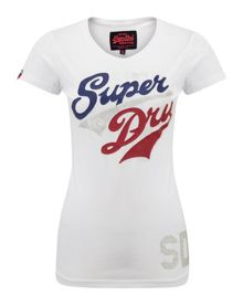 Superdry Silver Stacker T-shirt
