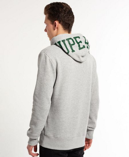 Superdry Athletics First Print Crew Neck Pull Over Overhea