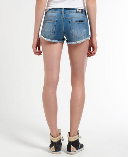Superdry Embellished Hot Shorts