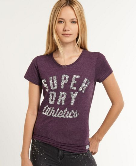 Superdry Athletic Sparkle T-Shirt