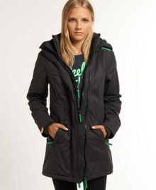 Hooded super windcheater