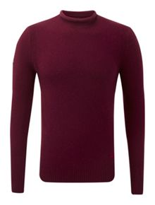 Spinnaker Plain Roll Neck Jumper