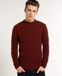 Superdry Spinnaker Plain Roll Neck Jumper