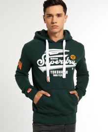 High Flyers Print Crew Neck Hoodie