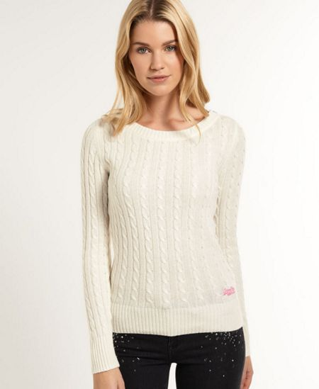 Superdry Croyde Cable Crew Jumper