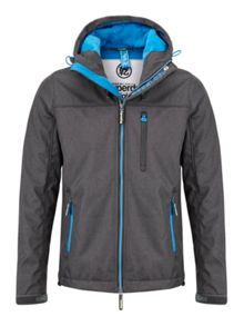 Hooded Casual Full Zip Windbreaker