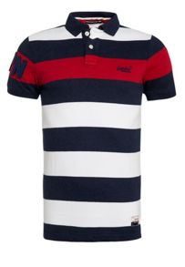 Hoopstripe Plain Crew Neck Regular Fit Polo Shirt