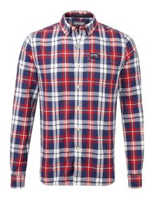 Princeton Oxford Plain Long Sleeve Button Down Sh