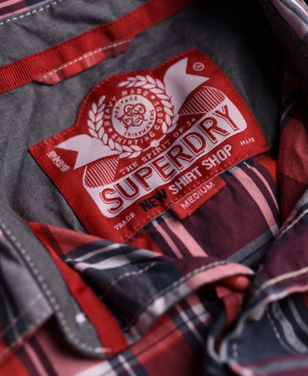 Superdry Washbasket Check Classic Fit Short Sleeve Shirt