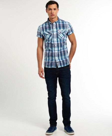 Superdry Washbasket Print Classic Fit Short Sleeve Classic
