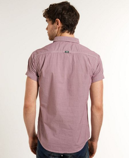 Superdry Laudered Plain Classic Fit Short Sleeve Shirt
