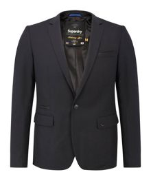 Superdry Supremecy Plain Classic Fit Dinner Jacket