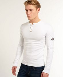 Heritage Plain Grandad Collar Regular Fit T-Shirt