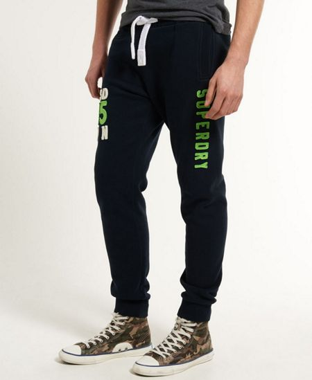 Superdry Applique Offset Casual Tracksuit Bottoms