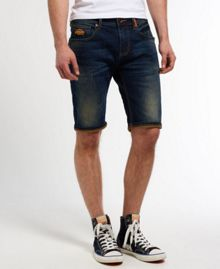Superdry Officer Denim Shorts