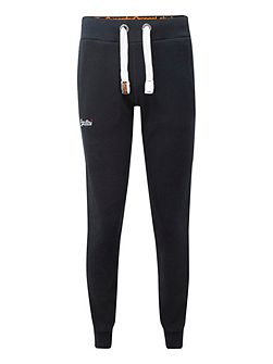 True Grit Slim Fit Casual Tracksuit Bottoms
